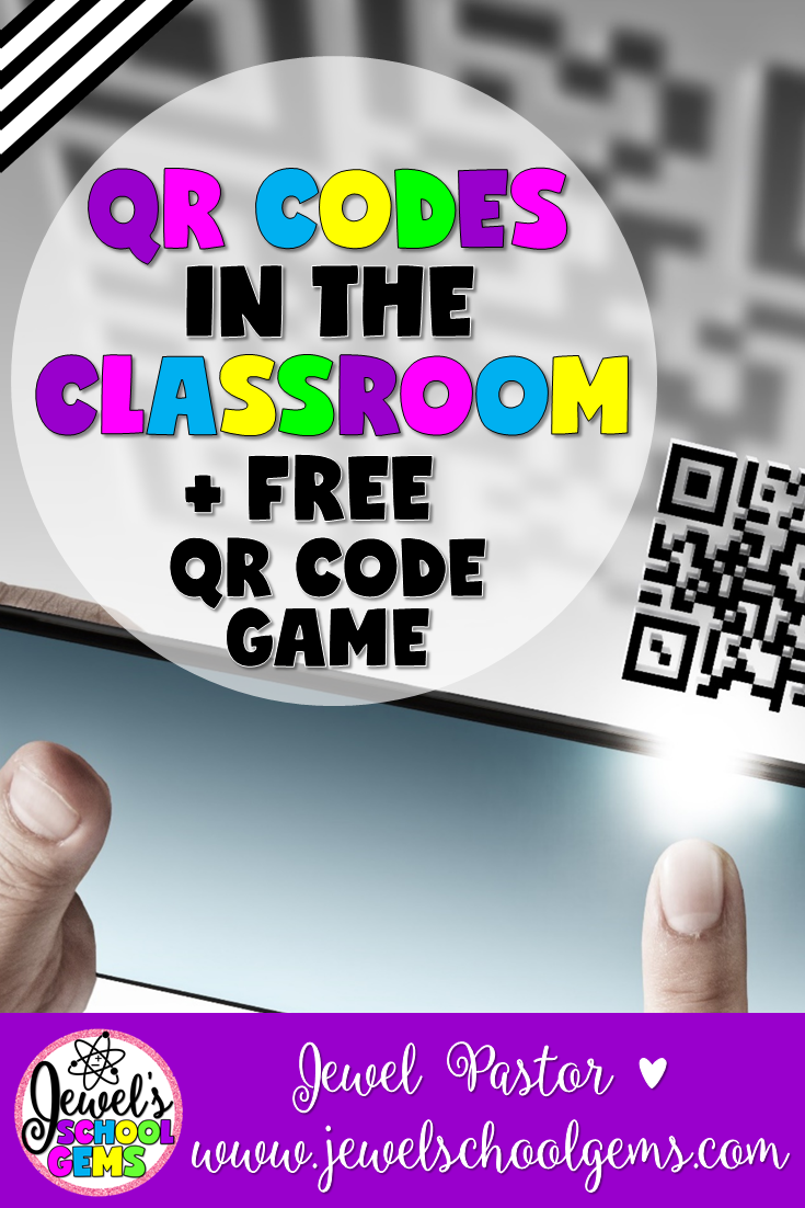 QR CODES IN THE CLASSROOM BY JEWEL PASTOR OF JEWELSCHOOLGEMS.COM | Have you tried using QR codes in the classroom? Did you ever have any trouble using them? Read about troubleshooting tips to help you when trouble arises.