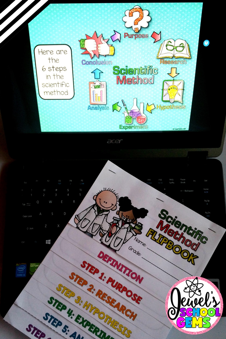 HOW TO TEACH THE SCIENTIFIC METHOD FOR KIDS by Jewel Pastor of Jewel's School Gems | Read about several ways on how to teach the scientific method for kids in this post PLUS grab FREE scientific method posters when you become a subscriber.