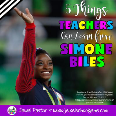 5 THINGS TEACHERS CAN LEARN FROM SIMONE BILES