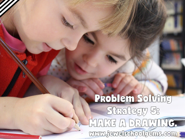 9 Problem Solving Strategies (Plus Free Problem Solving Strategies Posters) by Jewel Pastor of Jewel's School Gems | Read about 9 problem solving strategies to help your kids become more proficient in solving word problems plus grab FREE problem solving strategies posters!
