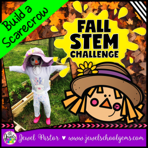 Scarecrow Fall STEM Challenge
