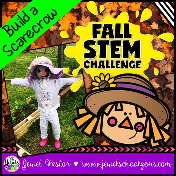 Scarecrow Fall STEM Challenge