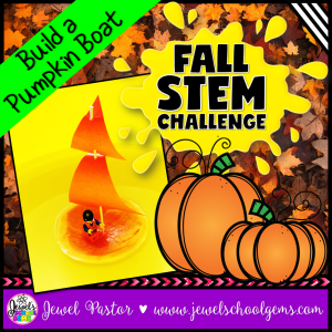 Fall STEM Activities (Pumpkin Boat Fall STEM Challenge)