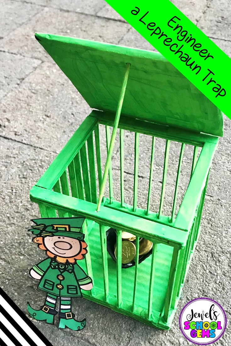 St Patrick's Day STEM Activity - Leprechaun Trap