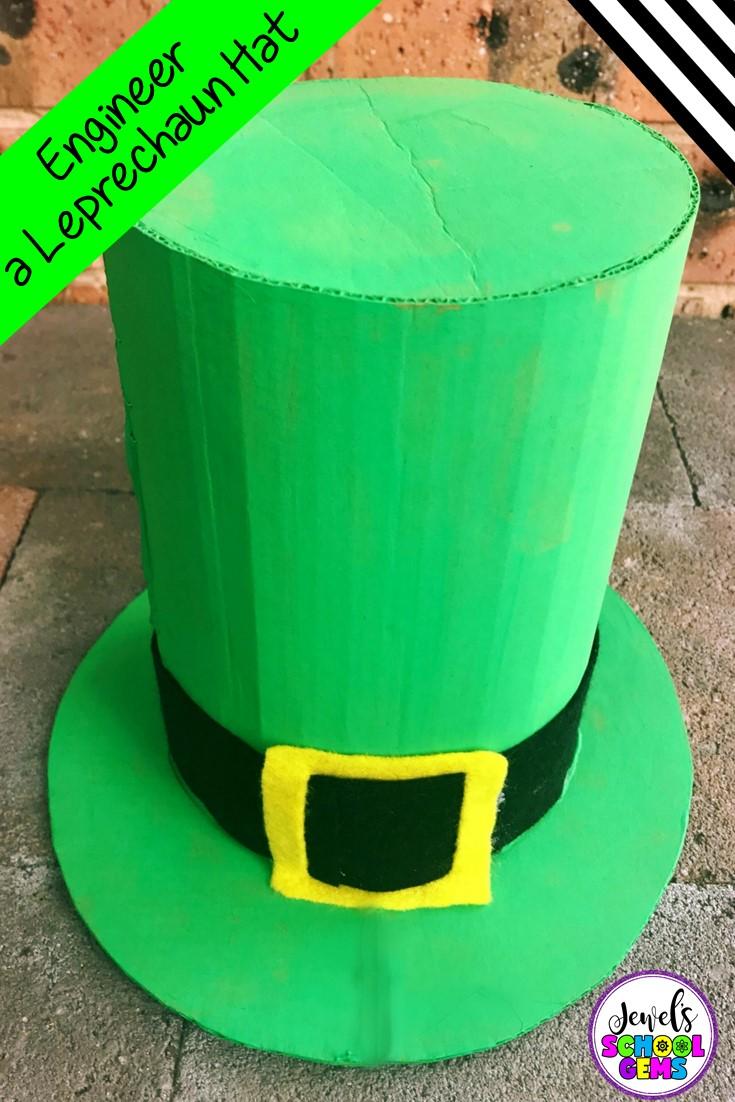 St Patrick's Day STEM Activity - Leprechaun Hat