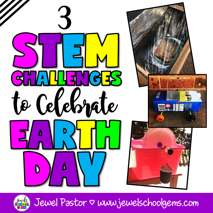 3 SUPER FUN STEM CHALLENGES TO CELEBRATE EARTH DAY