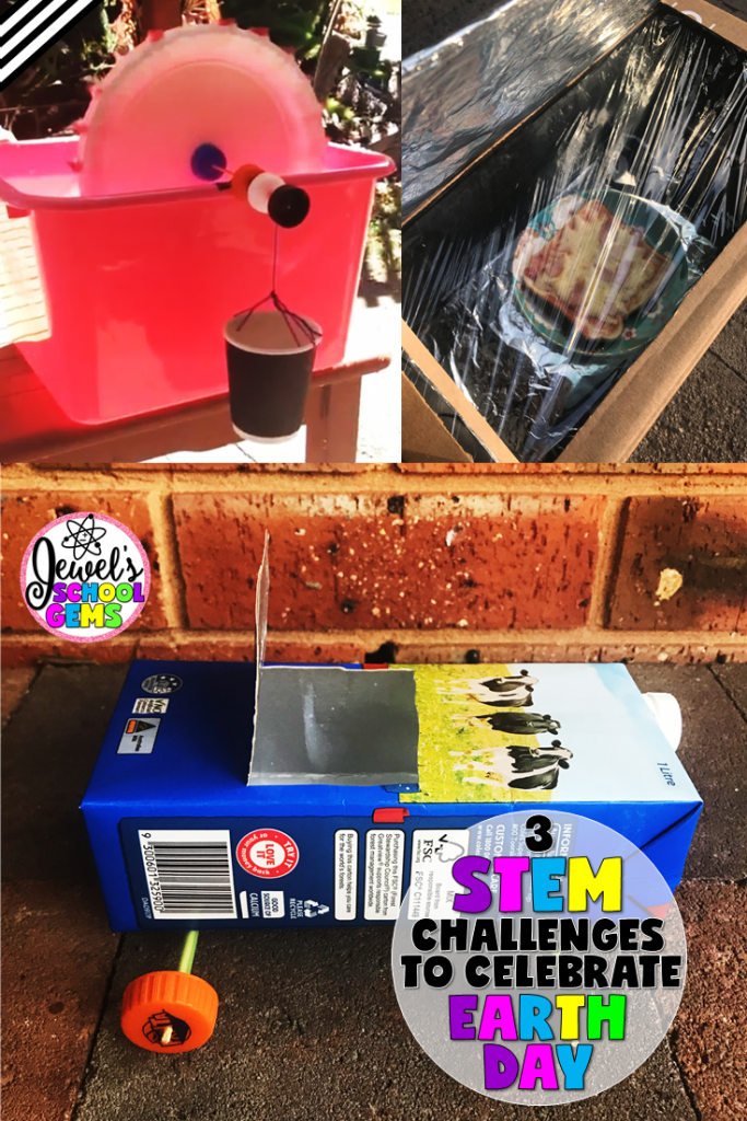 3 EARTH DAY STEM CHALLENGES | BY JEWEL'S SCHOOL GEMS Try these 3 super fun Earth Day STEM challenges to help you inspire your students to take action, not just on April 22, but every day!