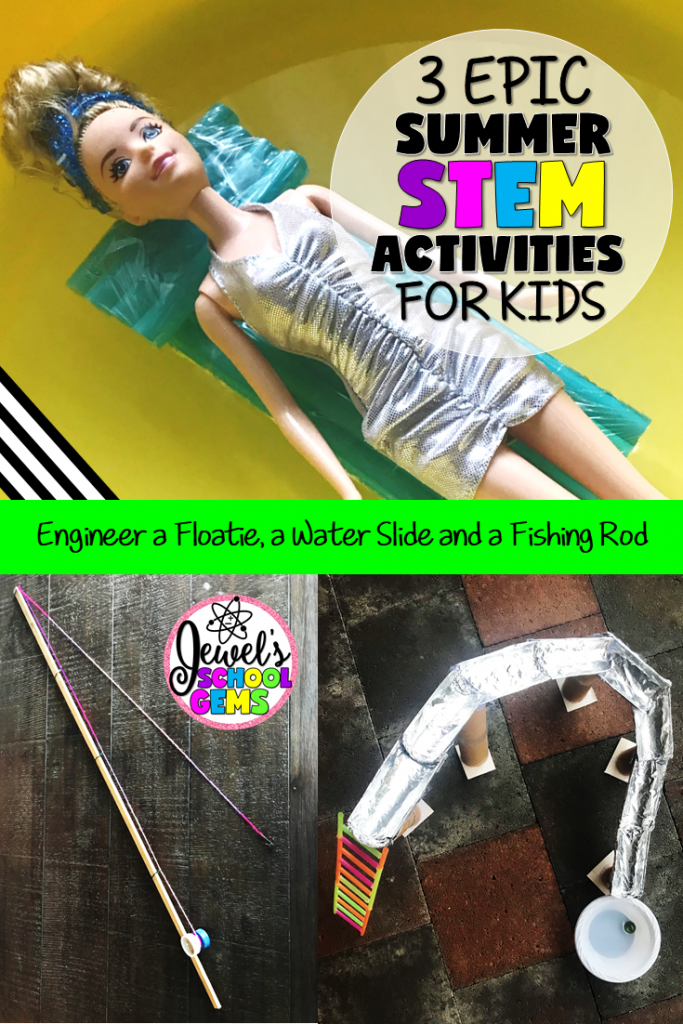 3 EPIC SUMMER STEM ACTIVITIES | Jewel's School Gems | For those of you who are still working due to year-round school, summer program, ESY or even camp, here are three exciting summer stem activities for you.