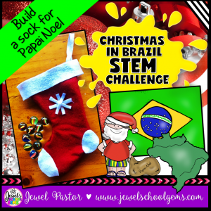 Christmas in Brazil STEM Challenge