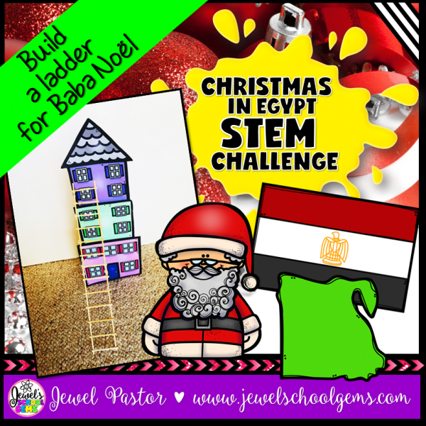 Christmas in Egypt STEM Challenge