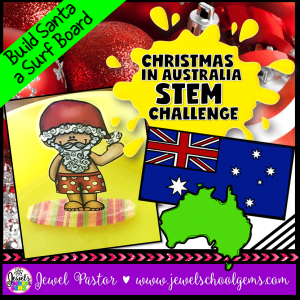 Christmas in Australia STEM Challenge