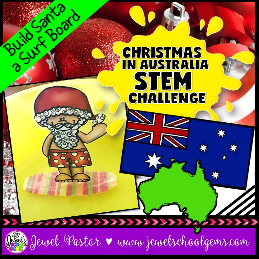 Stem Christmas Around The World Australia Christmas Stem Challenge Jewels School Gems By Jewel Pastor