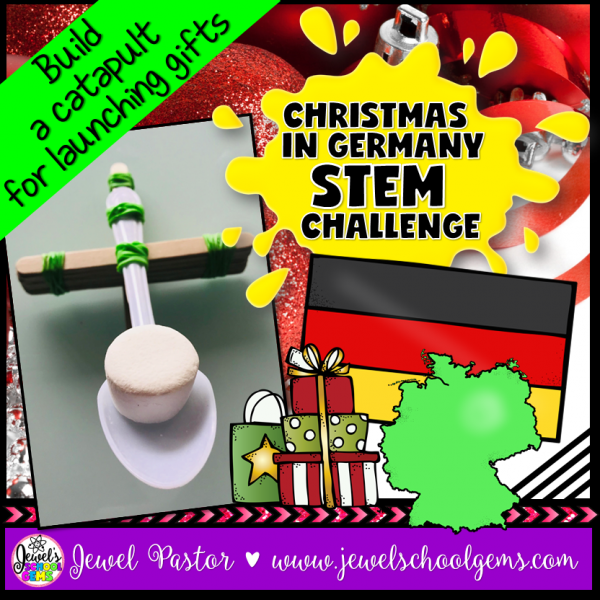 Christmas in Germany STEM Challenge