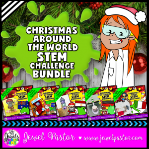 STEM Christmas Around the World Activities BUNDLE