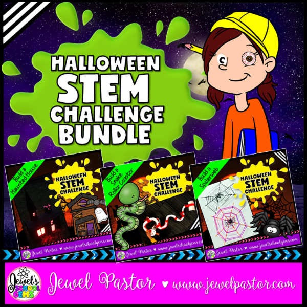 Halloween STEM Activities Bundle