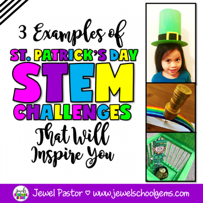 3 ST. PATRICK'S DAY STEM CHALLENGES | by Jewel's School Gems | These examples of St. Patrick's Day STEM challenges will surely prevent pinching and will inspire your students to get engineering instead!