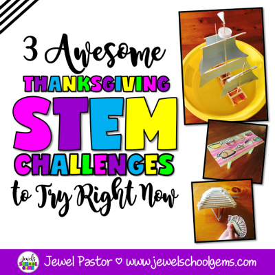 3 AWESOME THANKSGIVING STEM CHALLENGES TO TRY RIGHT NOW
