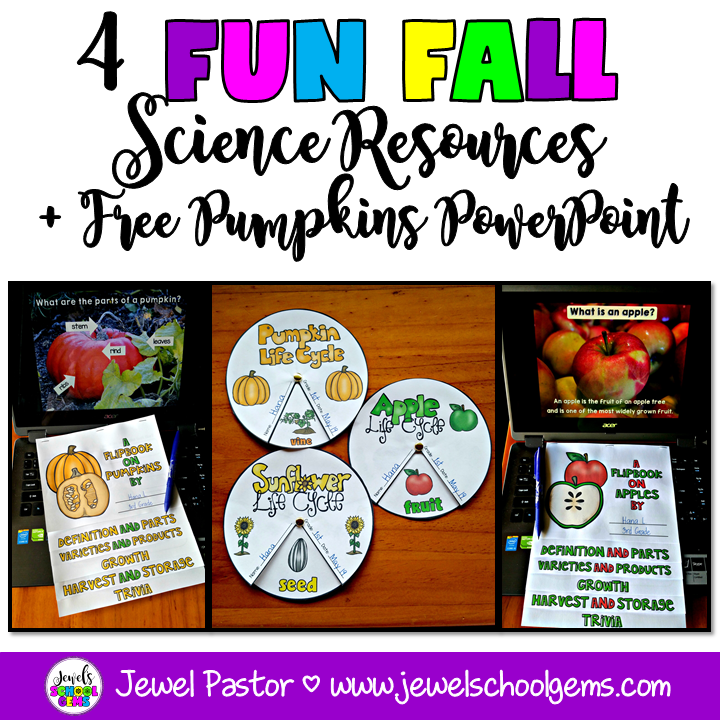 4 FUN FALL SCIENCE RESOURCES FOR PRIMARY STUDENTS