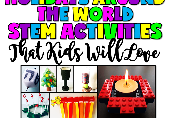 HOLIDAYS AROUND THE WORLD STEM ACTIVITIES THAT KIDS WILL LOVE by Jewel's School Gems | With a little breathing room between now and Christmas, it's the perfect time to look at Holidays Around the World STEM activities!