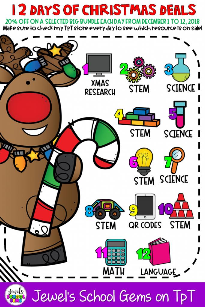 12 DAYS OF CHRISTMAS DEALS   Jewel\'s School Gems by Jewel Pastor