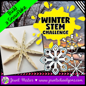 Snowflake Winter STEM Activities