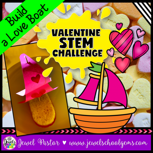 LOve Boat Valentine's Day STEM