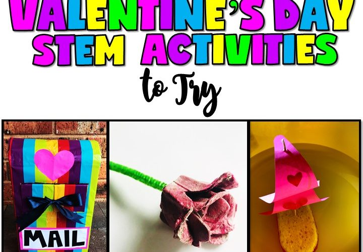 3 AMAZING VALENTINE'S DAY STEM ACTIVITIES TO TRY BY JEWEL'S SCHOOL GEMS | As a teacher, I'm pretty sure you had your share of kids making cards or other similar Valentine's Day crafts. This year, why not change things up and try Valentine's Day STEM activities instead?