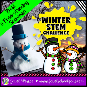 Snowman Winter STEM Activity