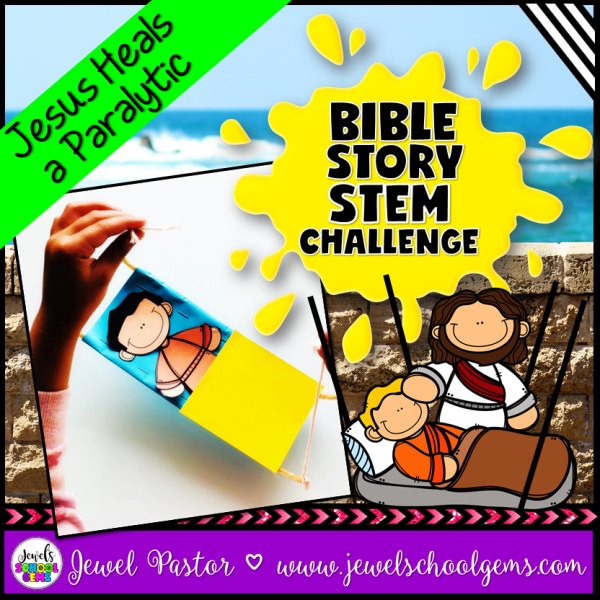 Jesus Heals a Paralytic STEM Activity
