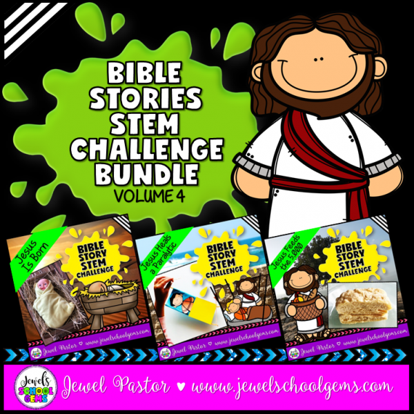 Life of Jesus Bible STEM Activities Bundle