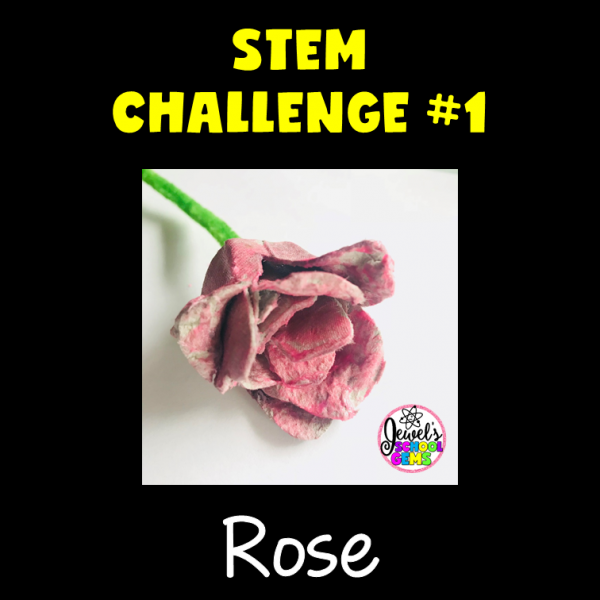 Rose Valentine's Day STEM Activities