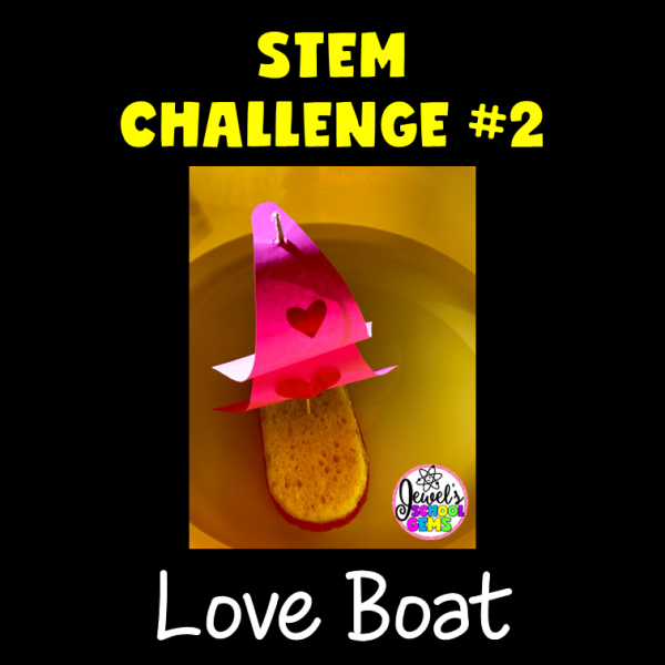 Love Boat Valentine's Day STEM Activities