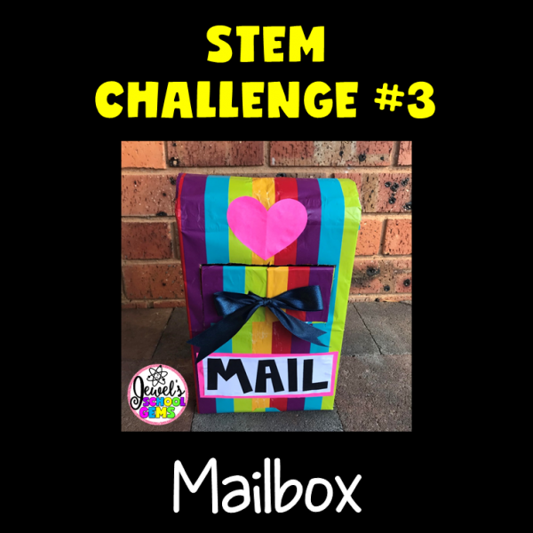 Mailbox Valentine's Day STEM Activities