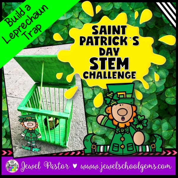 St. Patrick's Day STEM Activities Leprechaun Trap