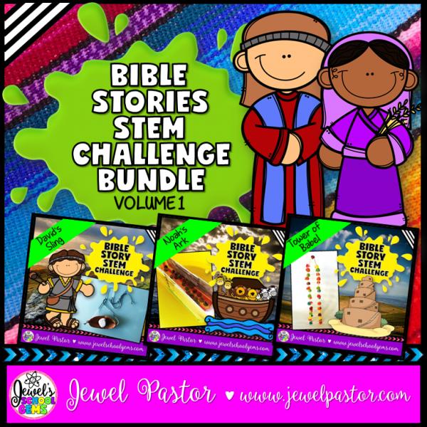Bible Stories STEM Bundle Volume 1