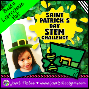 St. Patrick's Day STEM Activities Leprechaun Hat