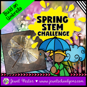 Umbrella Spring STEM Activity