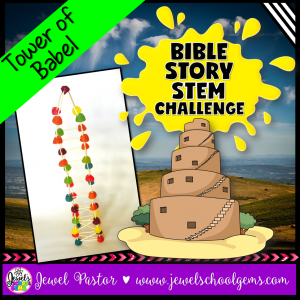 Tower of Babel Bible Story STEM Challenge