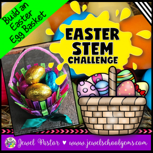 Egg Basket Easter STEM Activity