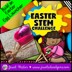 Egg Launcher Easter STEM Activity