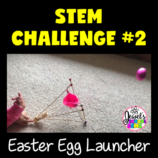 Easter Egg Launcher Easter STEM Activity