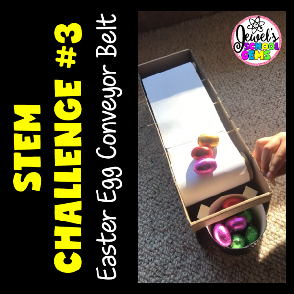 Easter Egg Conveyor Belt STEM Activity