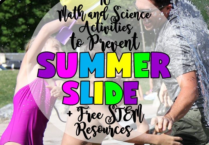 10 MATH AND SCIENCE ACTIVITIES TO PREVENT SUMMER SLIDE By Jewel Pastor of Jewel's School Gems |Luckily, there are many Math and Science activities that can be done over the summer break to make sure kids do more than the usual reading of books. As a teacher, you can recommend these activities to parents or do them with your own kids. Here are 10 Math and Science activities that you can do to help prevent summer slide in children.