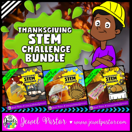 Thanksgiving STEM Activities Bundle