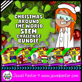 Christmas Around the World STEM BUNDLE
