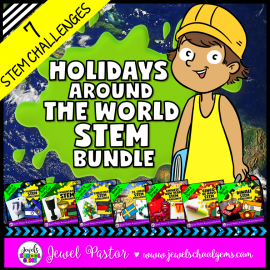 Holidays Around the World STEM Challenges Bundle
