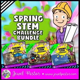 Spring STEM Activities Bundle
