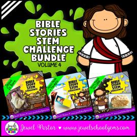 Life of Jesus Bible STEM Activities