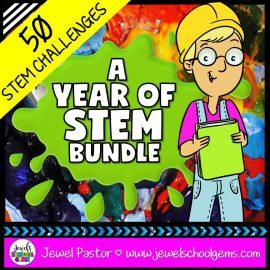 Yearlong Elementary STEM Challenges Bundle